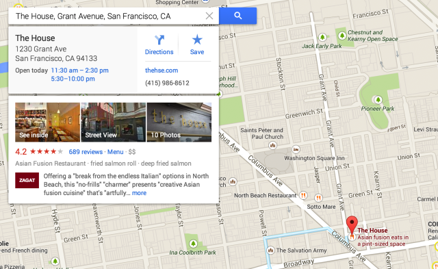New revamped google map