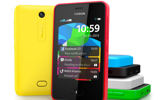 Nokia Asha 501 launched for Rs 5300 in Delhi
