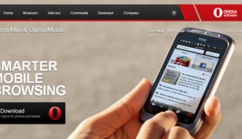 Opera Mini browser to come preloaded on handsets made by seven Indian manufacturers