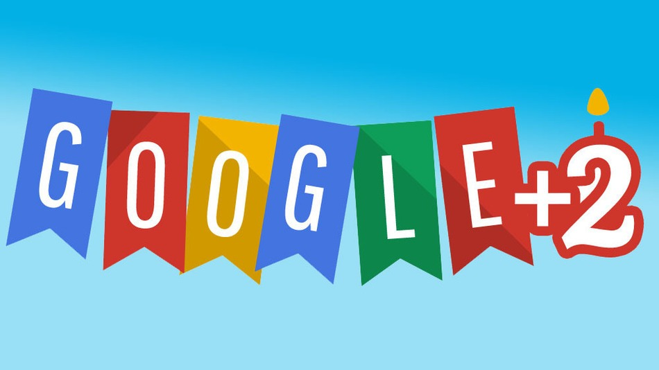 Google plus second birthday