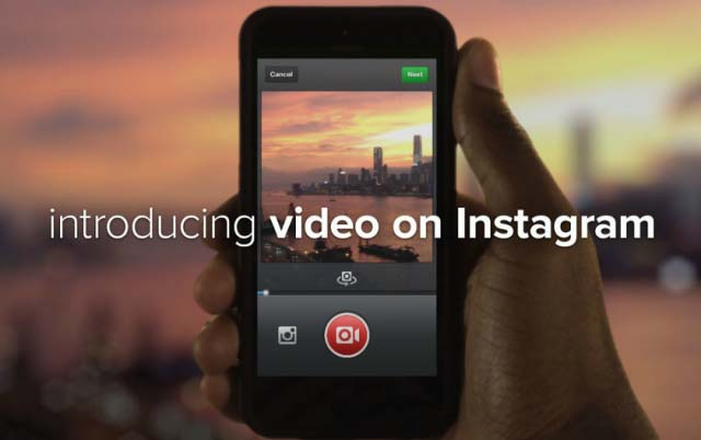 Instagram video sharing feature intro
