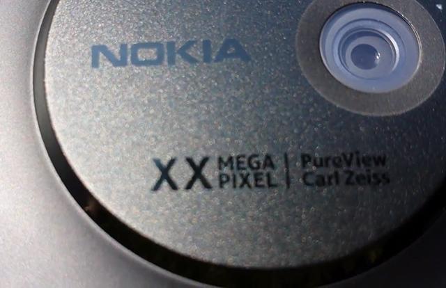 Nokia 41-megapixel EOS lens