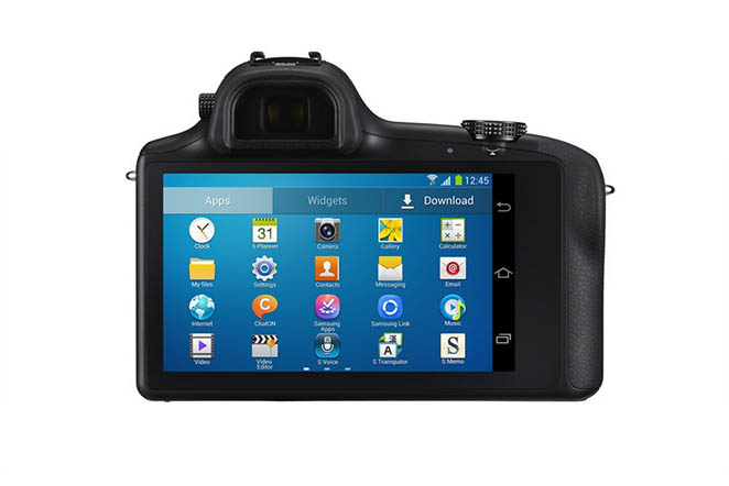 Samsung Galaxy NX Screen