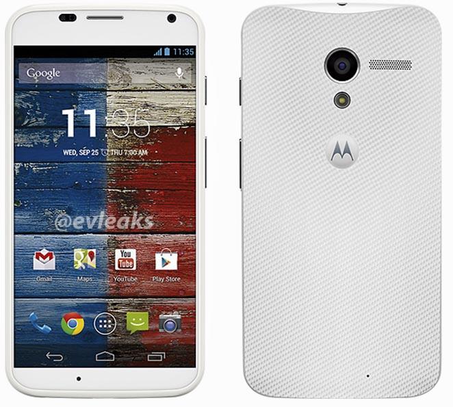 Google Moto X White