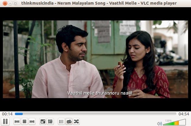 VLC Youtube Video