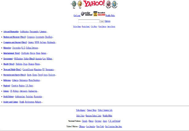 Yahoo Old Look