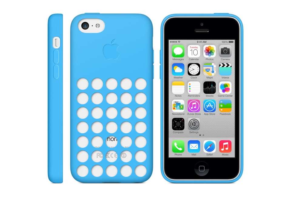 iPhone 5c Case Blue