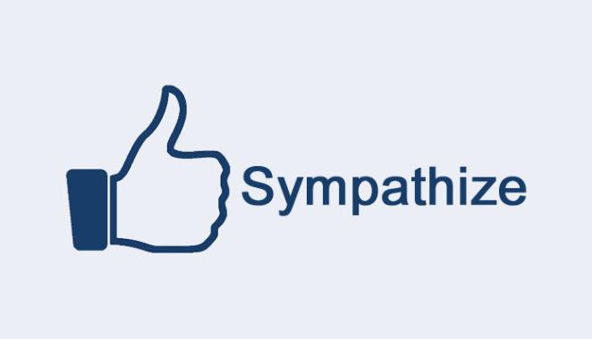 Facebook Sympathize Button