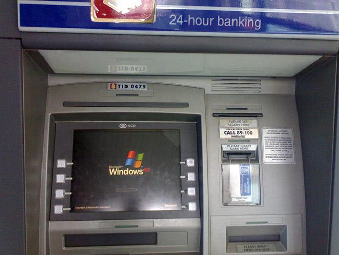 Microsoft Windows XP in ATM