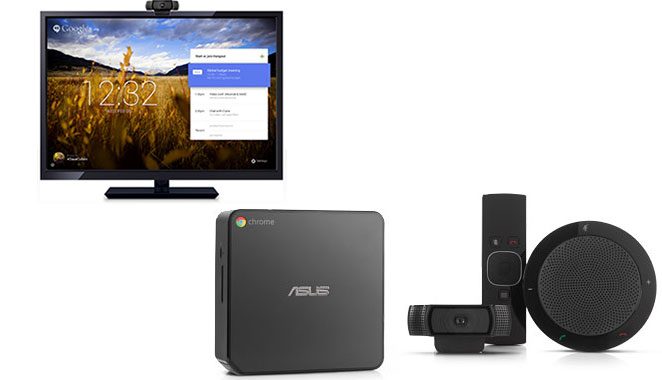 Google Chromebox fo Meetings System