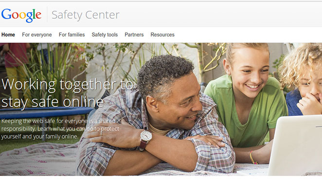 Google Online Safety Tools
