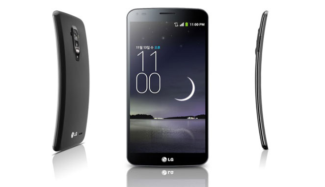 LG G Flex in India