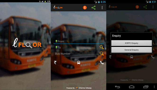 LOW-FLOOR KSRTC BUS FINDER