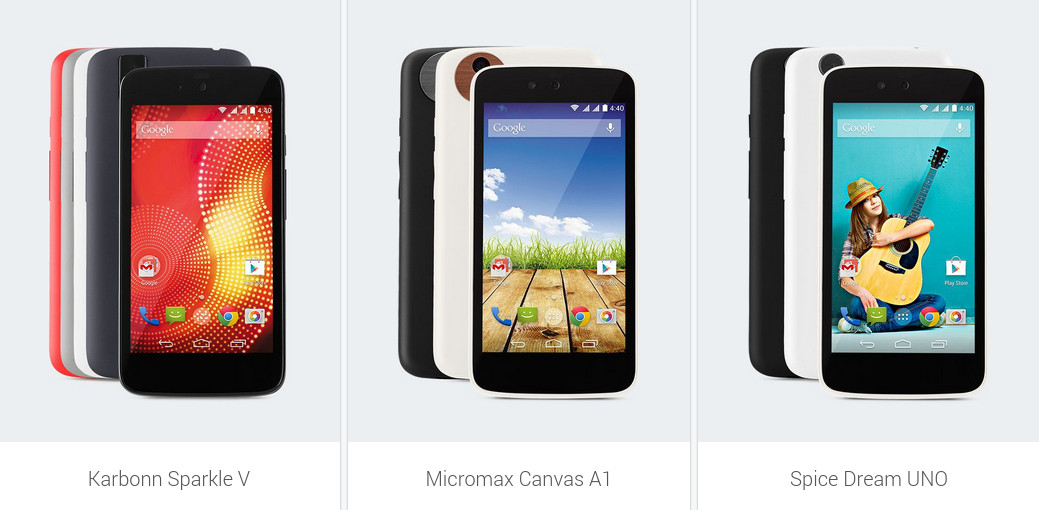 Google Android One Smartphones