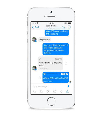 Facebook Voice To Text
