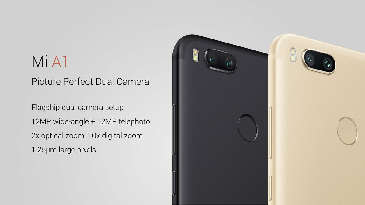 Xiaomi Mi A1 - Dual Camera